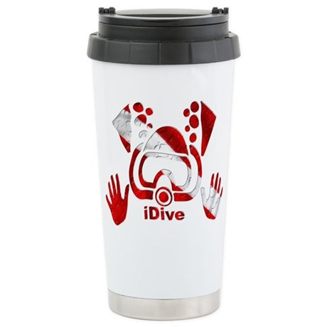 iDive Dive Flag Original Stainless Steel Travel Mu