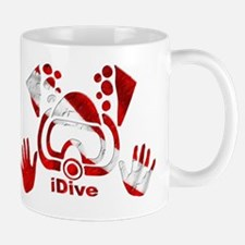 iDive Dive Flag Original Mug