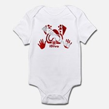 iDive Dive Flag Original Infant Bodysuit