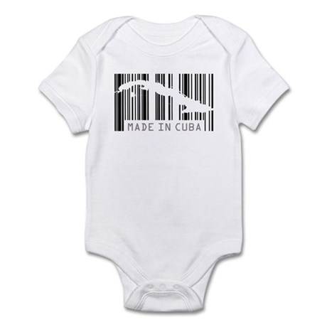 Made in Cuba Barcode Infant Bodysuit
