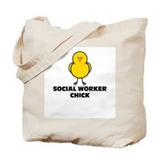 Social Worker Chick Tote Bag