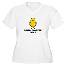 Social Worker Chick T-Shirt