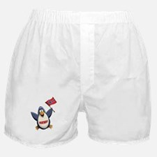 Norway Penguin Boxer Shorts