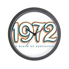 1972 The birth of Perfection Wall Clock