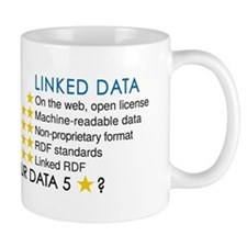 Five Star Linked Data Mugs