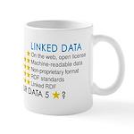 Five Star Linked Data Mugs