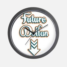 Future Dolfan Wall Clock