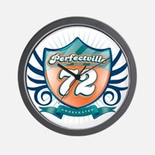 Perfectville 72 shield Wall Clock