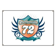 Perfectville 72 shield Banner