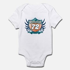 Perfectville 72 shield Infant Bodysuit