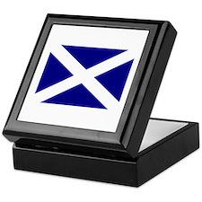 Scotland's Flag Keepsake Box
