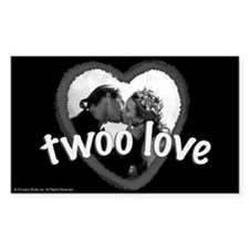 Twoo Love Princess Bride Decal