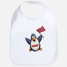 Norway Penguin Bib