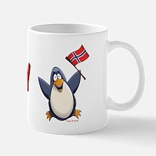Norway Penguin Mug