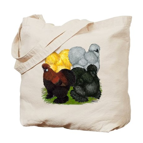 Silkie Assortment Tote Bag
