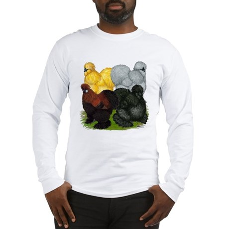Silkie Assortment Long Sleeve T-Shirt