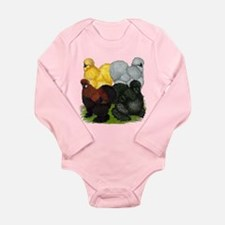 Silkie Assortment Long Sleeve Infant Bodysuit