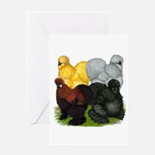Silkie Assortment Greeting Card