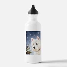 WESTIE WINTER WONDERS Water Bottle