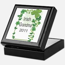 IRISH GRANDMA 2011 Keepsake Box