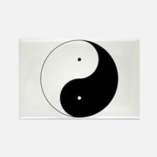 Daoism Yin & Yang Rectangle Magnet