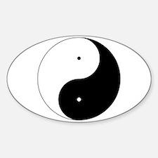 Daoism Yin & Yang Decal