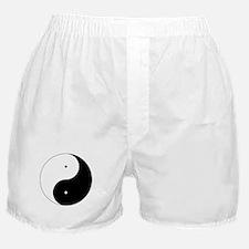 Daoism Yin & Yang Boxer Shorts