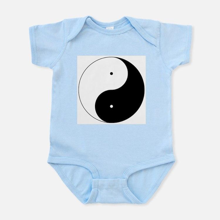 Daoism Yin & Yang Infant Bodysuit
