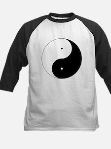 Daoism Yin & Yang Kids Baseball Jersey