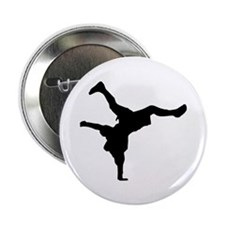 """Breakdancing 2.25"""" Button (10 pack)"""