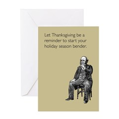 Thanksgiving Bender Greeting Card