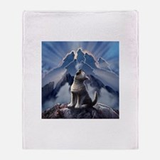 Leader of the Pack Throw Blanket