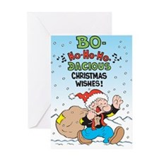 Bo-ho-ho! Greeting Card