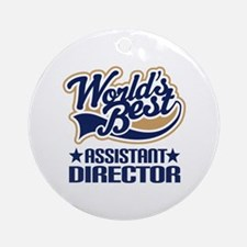 Assistant Director Ornament (Round)