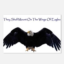 Wings Of Eagles Postcards (Package of 8)