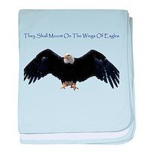 Wings Of Eagles baby blanket