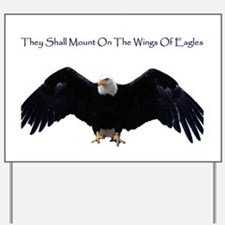 Wings Of Eagles Yard Sign