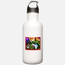 """Good Life"" Holiday Designs Water Bottle"