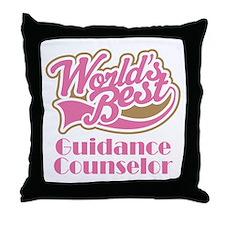 Guidance Counselor Throw Pillow
