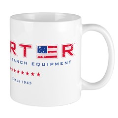 TARTER Distressed Logo Mug