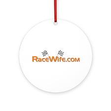 RaceWife.com Ornament (Round)
