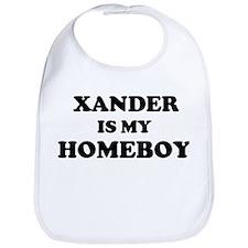 Xander Is My Homeboy Bib
