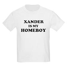 Xander Is My Homeboy Kids T-Shirt