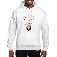 I Love Lisa Hoodie Sweatshirt