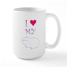 I Love My Guinea Pig Mug
