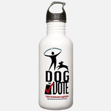 Dog the Vote: No Chains Water Bottle