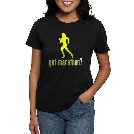 Marathon Runner Women's Dark T-Shirt