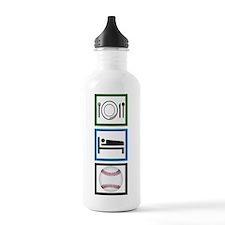 Eat Sleep Baseball Water Bottle