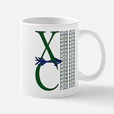XC Run Dark Green Navy Mug