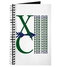 XC Run Dark Green Navy Journal